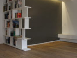 LC Architetti - Portfolio - White is an attitude - Libreria e muro